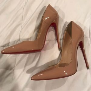 Christian Louboutin So Kate nude AUTHENTIC